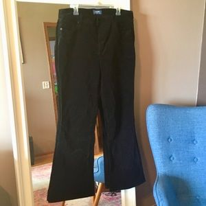 Flare corduroy jeans flare high rise Old Navy 16